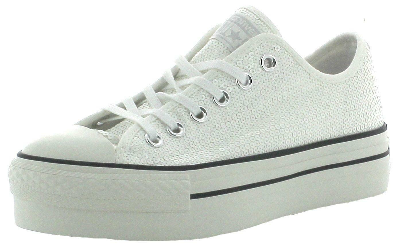 converse scarpe donna bianche