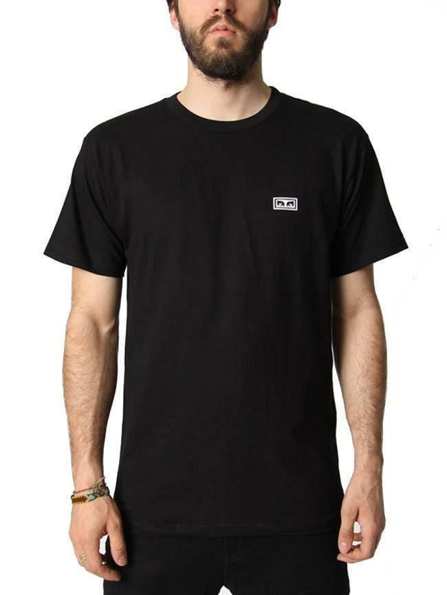 obey obey jumble t-shirt uomo nera 16308168722blk