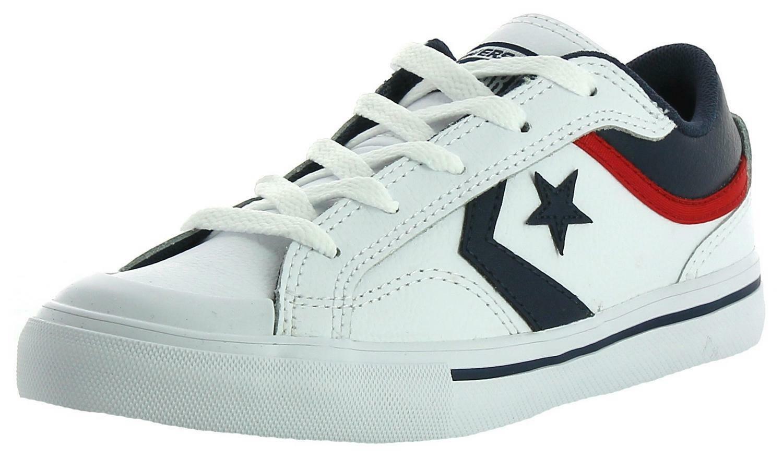 converse converse pro blaze ox scarpe bambino bianche