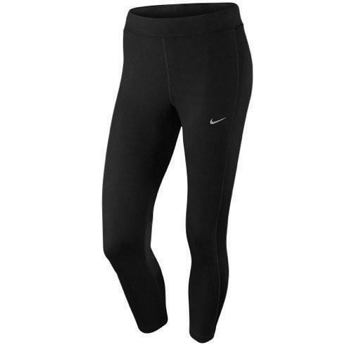 nike women's dri-fit essential crop pantaloni running elasticizzati donna 667623 010