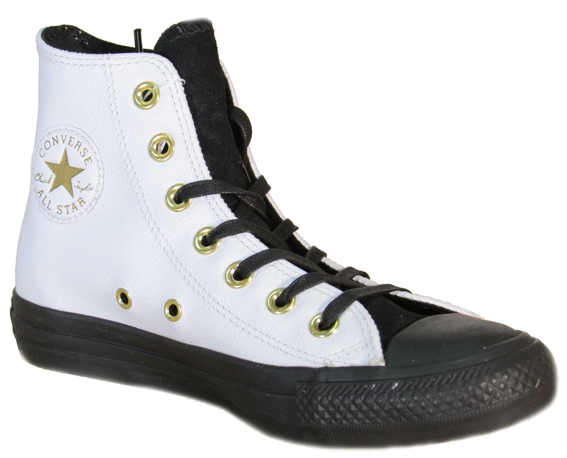 scarpe donna bianche converse pelle