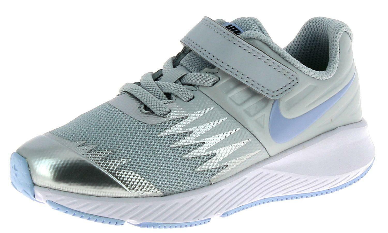 nike nike star runner psv scarpe sportive bambino/a argento 921442003