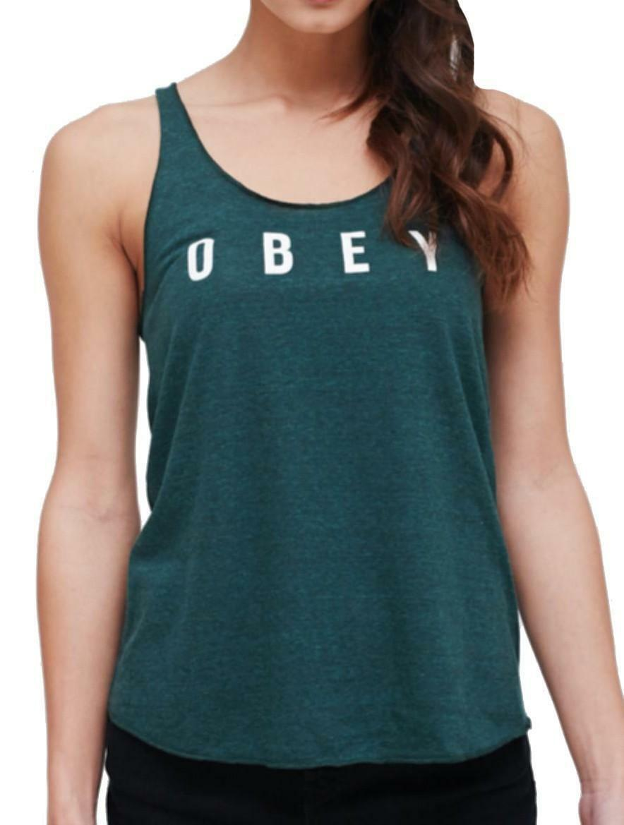 obey obey anyway spruce canotta donna verde 264811231