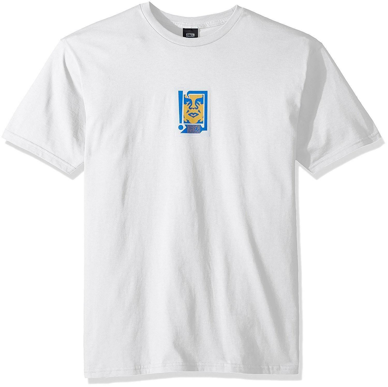 obey obey arrow t-shirt uomo bianca 221180175