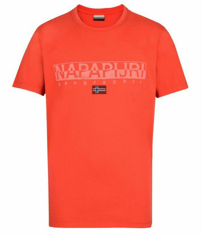 napapijri napapijri sapriol t-shirt uomo rossa n0yhcyr89