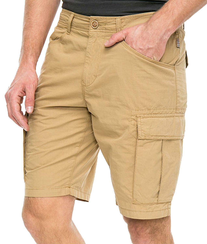napapijri napapijri noto pantaloncini uomo beige n0yhf6nb5