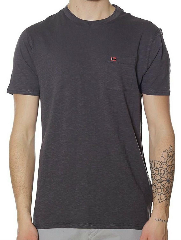 napapijri napapijri syla t-shirt uomo grigia n0yhcsh74