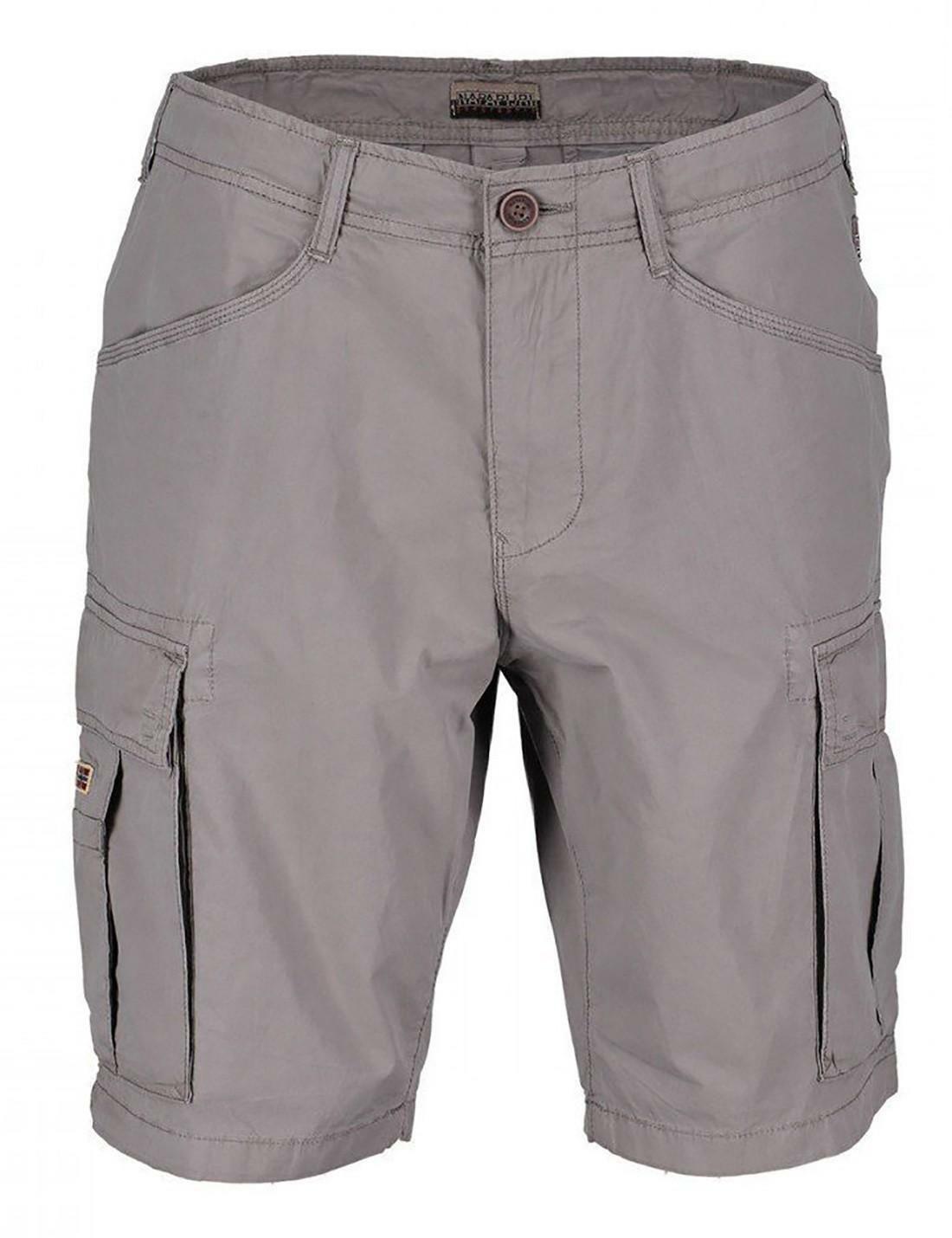 napapijri napapijri noto pantaloncini uomo grigio chiaro n0yhf6161