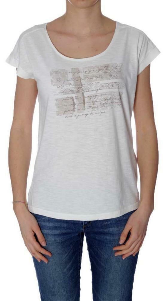 napapijri napapijri sandino t-shirt donna beige