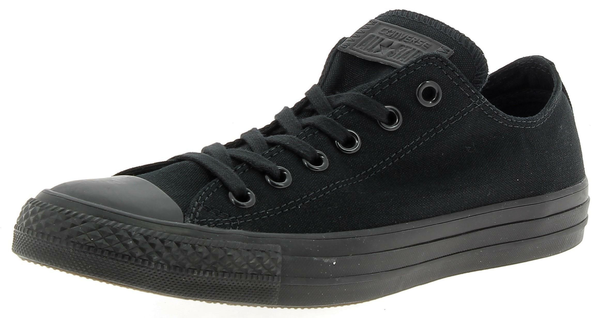 converse converse ctas ox scarpe sportive nere