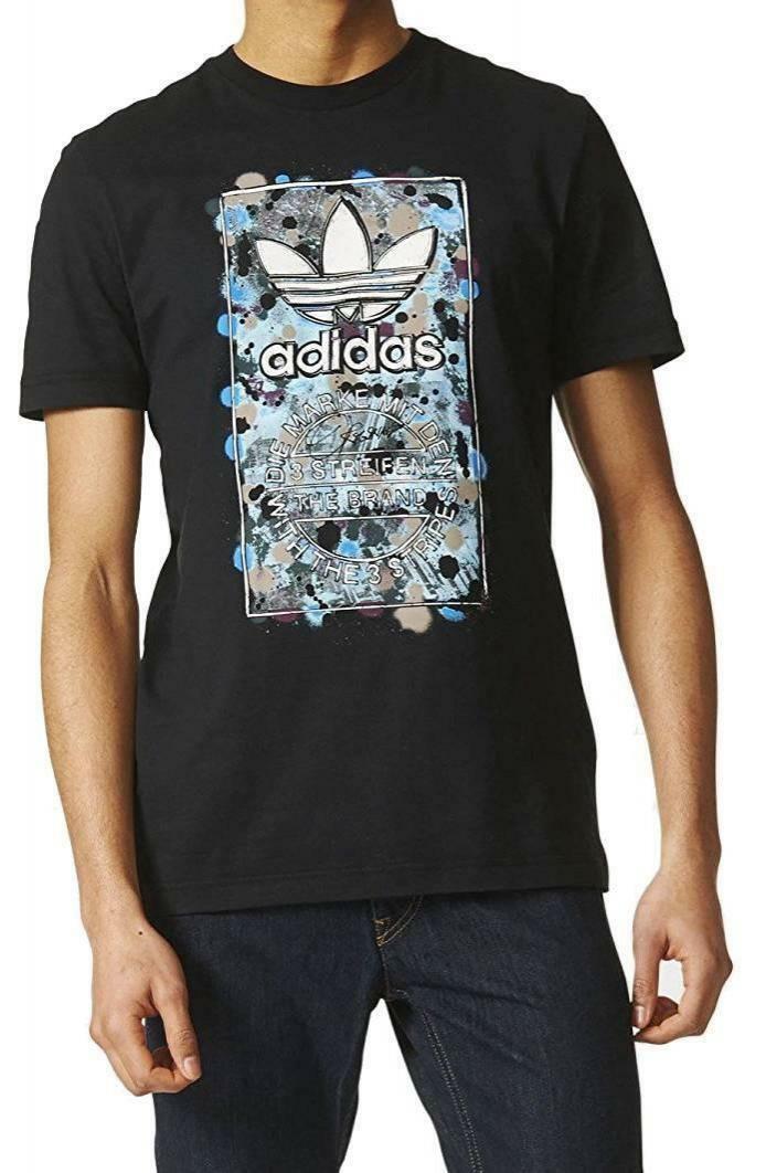 adidas adidas culture clash t t-shirt uomo nera
