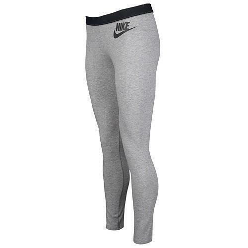 nike leg-a-see solid logo leggings donna cotone stretch 729369 091