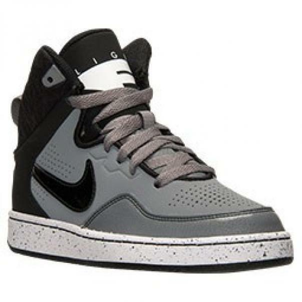 nike nike first flight gs scarpe sportive donna grigie pelle 725132