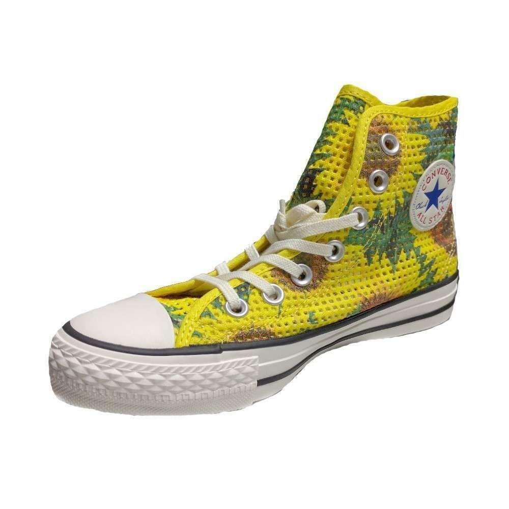 converse converse all star chuck taylor hi girasoli scarpe sportive donna 552727c