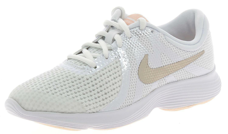 943306100 Scarpe Nike Sportive Revolution Gs Bianche 4 Donna TlFcK1J