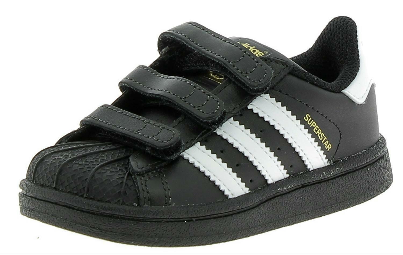 adidas adidas superstar cf i scarpe sportive pelle nere bz0419