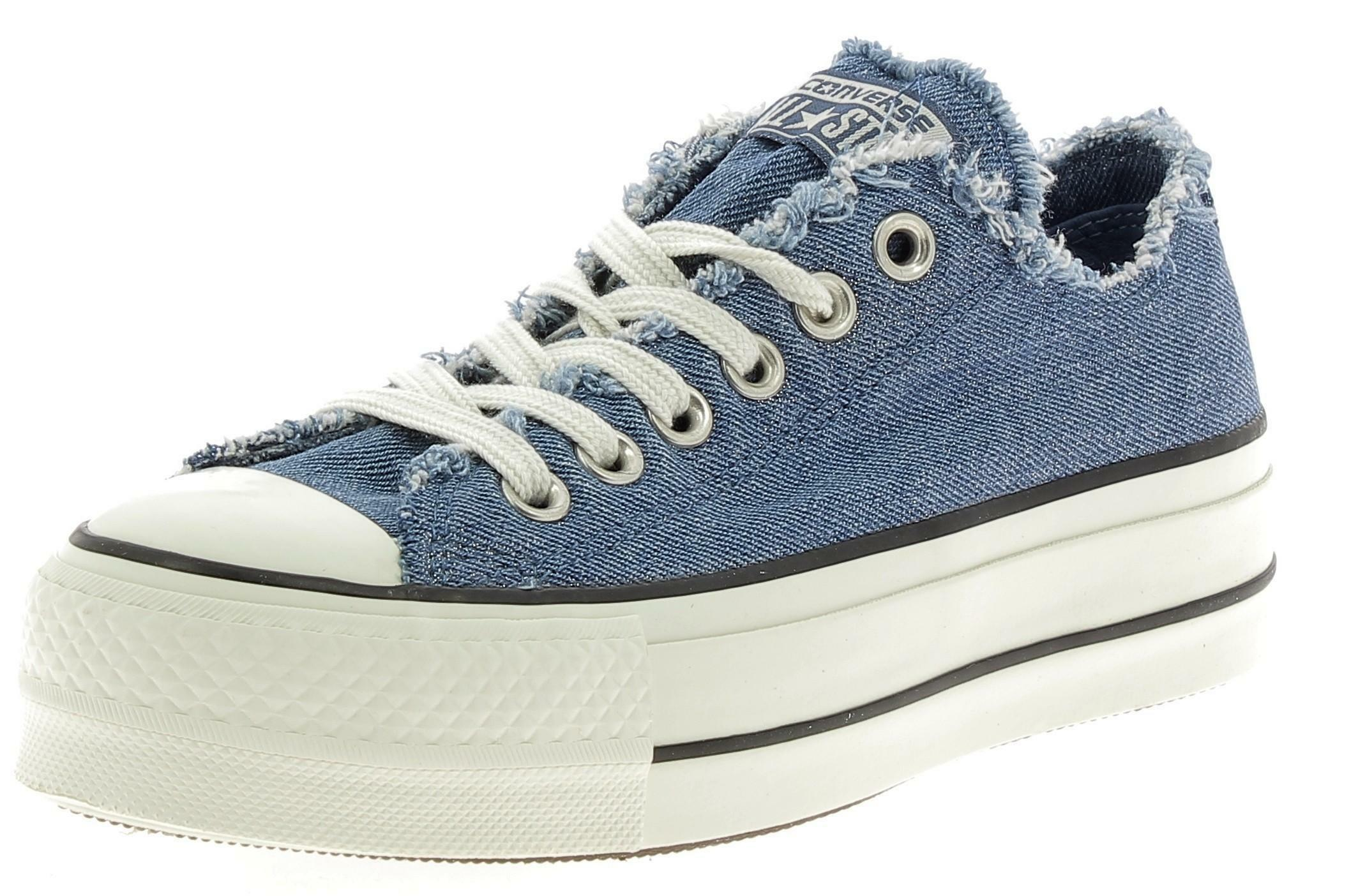 2converse jeans donna