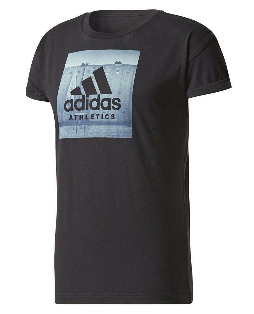 adidas adidas category ath m t-shirt uomo nera