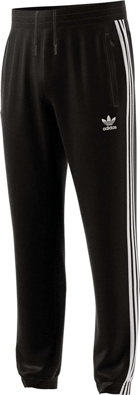 adidas adidas warm up pantaloni tuta uomo neri cw1280