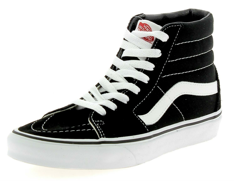 scarpe alte nere vans