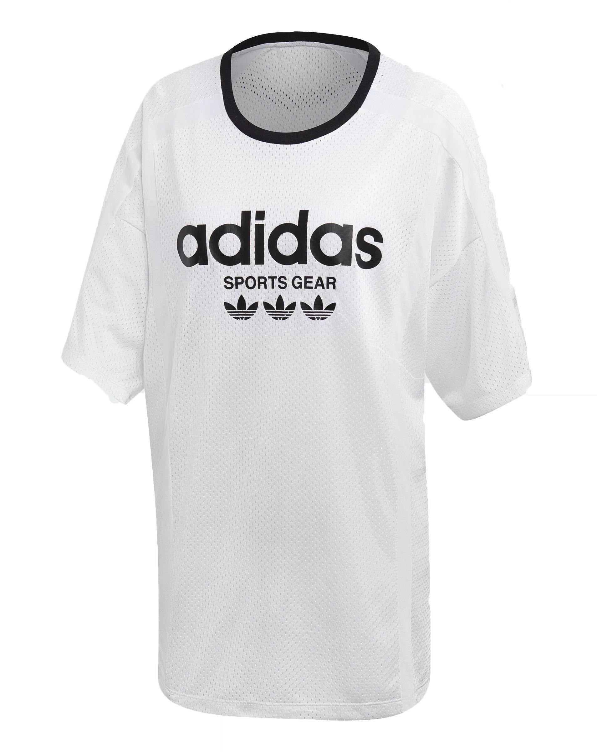 adidas adidas mesh t-shirt donna bianca ce4185