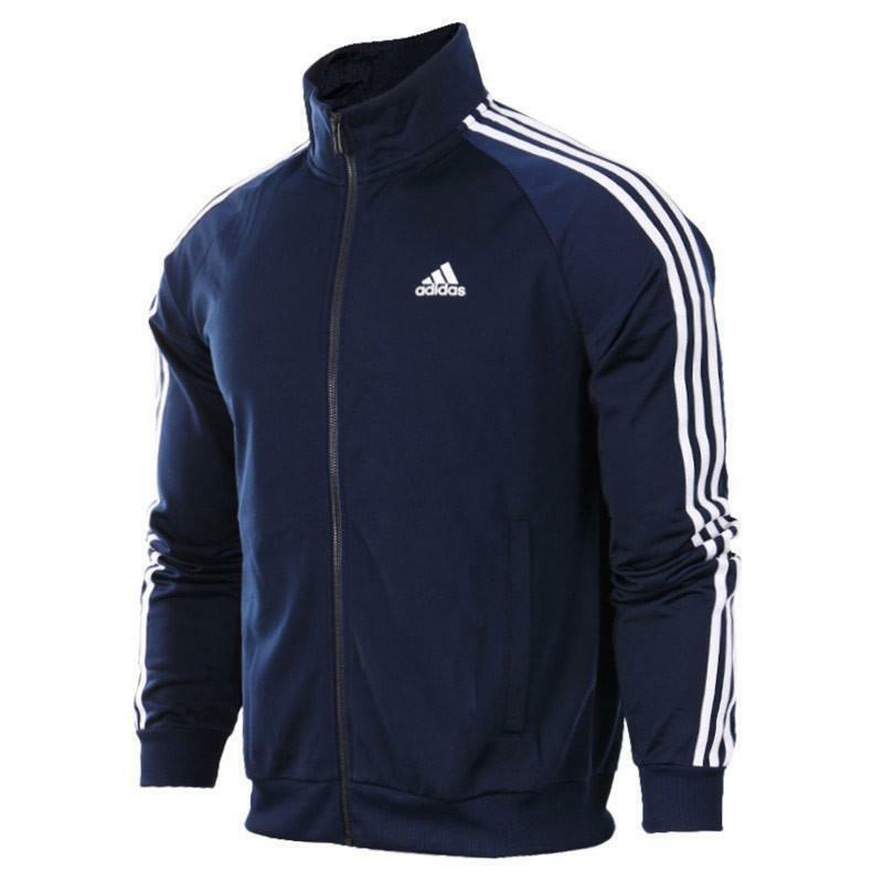 adidas adidas ess 3s giacchetto uomo blu b47367