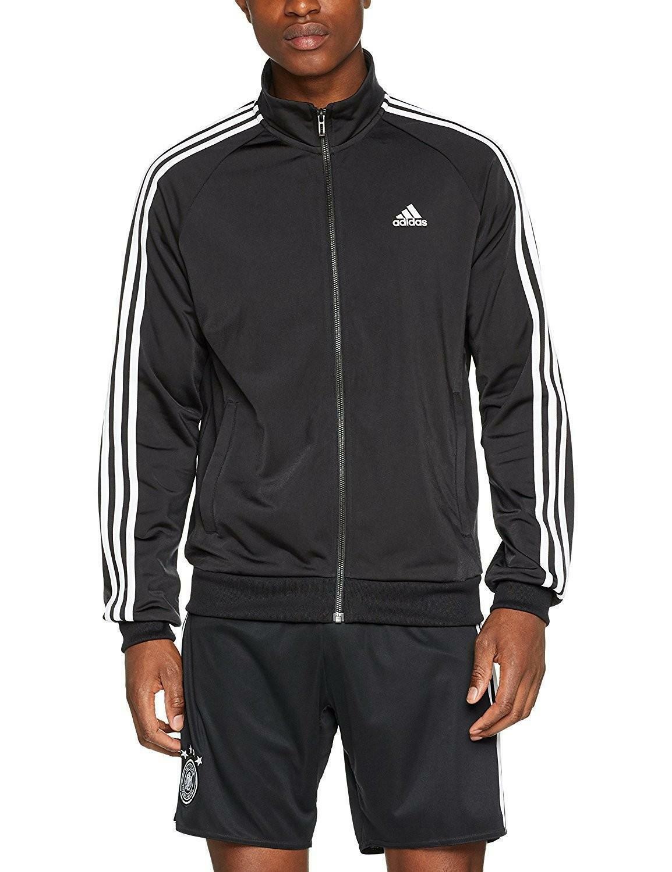 adidas adidas ess 3s ttop tri giacchetto uomo nero br1024