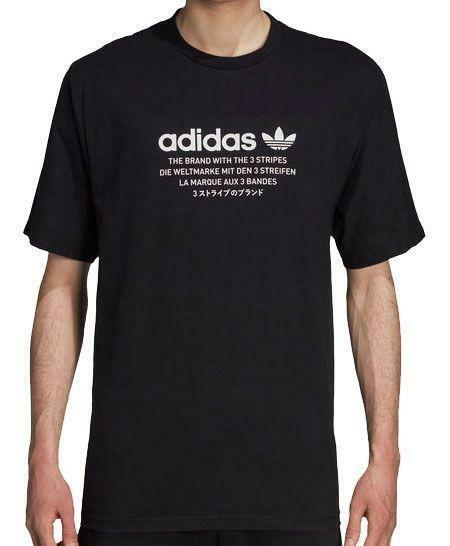 adidas originals adidas nmd t-shirt uomo nera dh2248