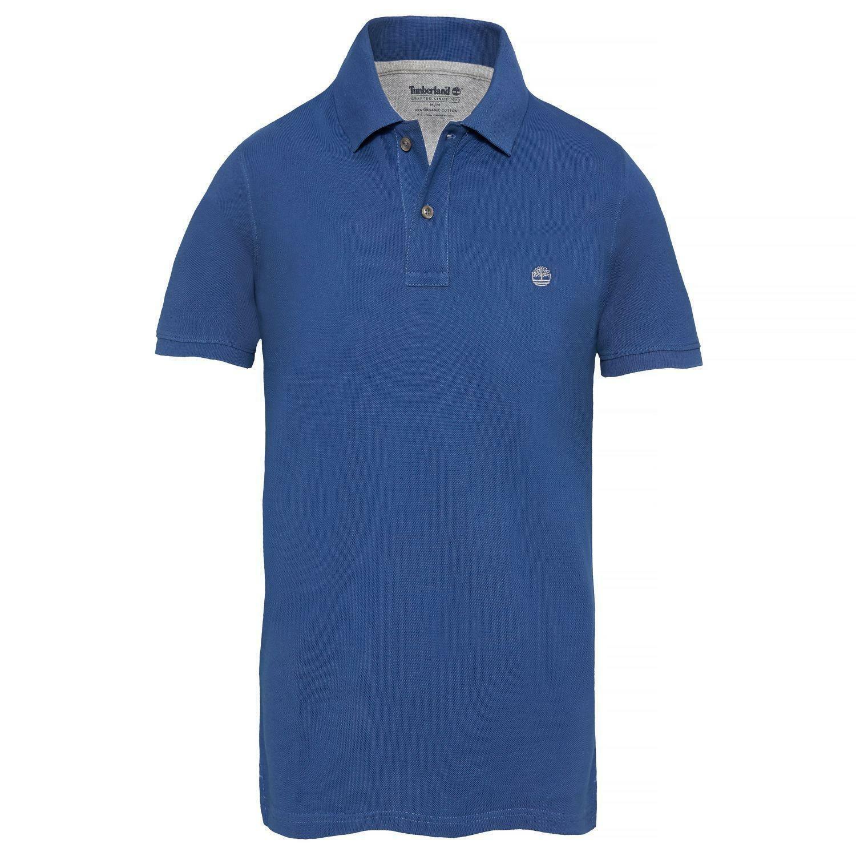 timberland timberland millers polo t-shirt blu uomo a1lil-428