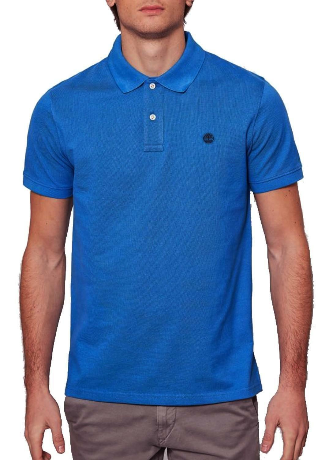 timberland timberland millers river slim polo uomo azzurra a1s4jj45