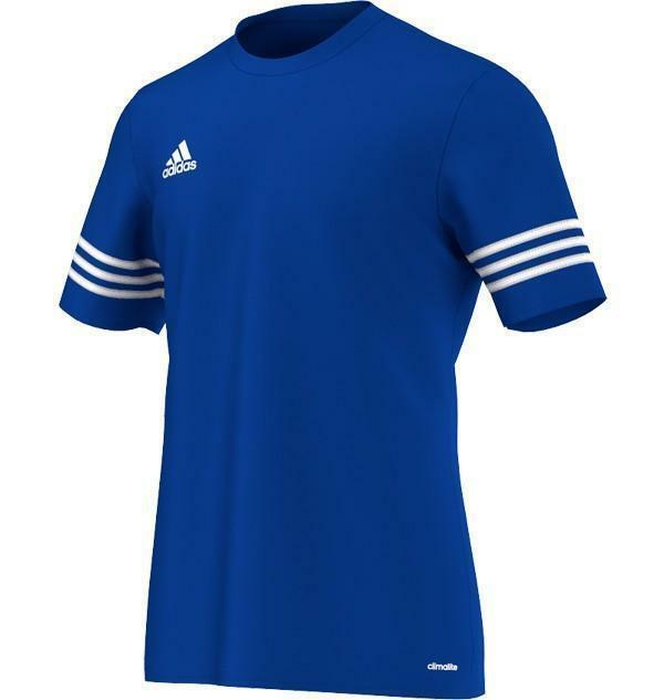 adidas t-shirt bambino blu entrada 14
