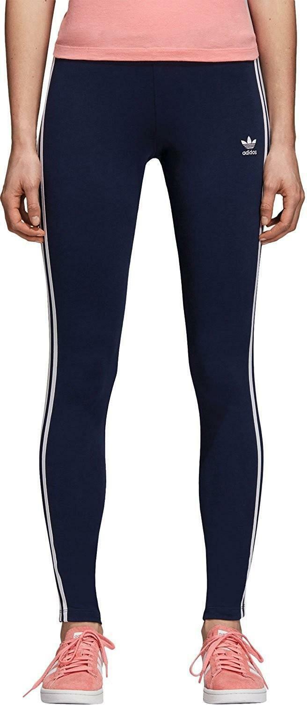adidas adidas 3 str tight leggings donna blu dh3182