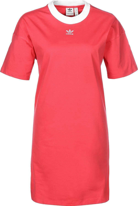adidas adidas trefoil vestito donna rosa dh3195