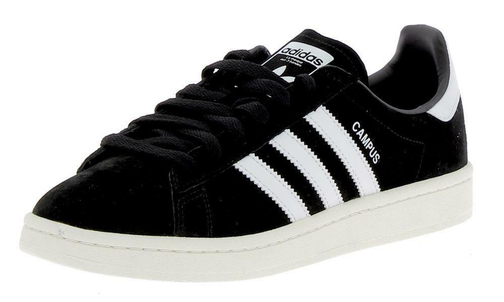 san francisco b1991 098db Adidas CAMPUS Mens Black Sports Shoes
