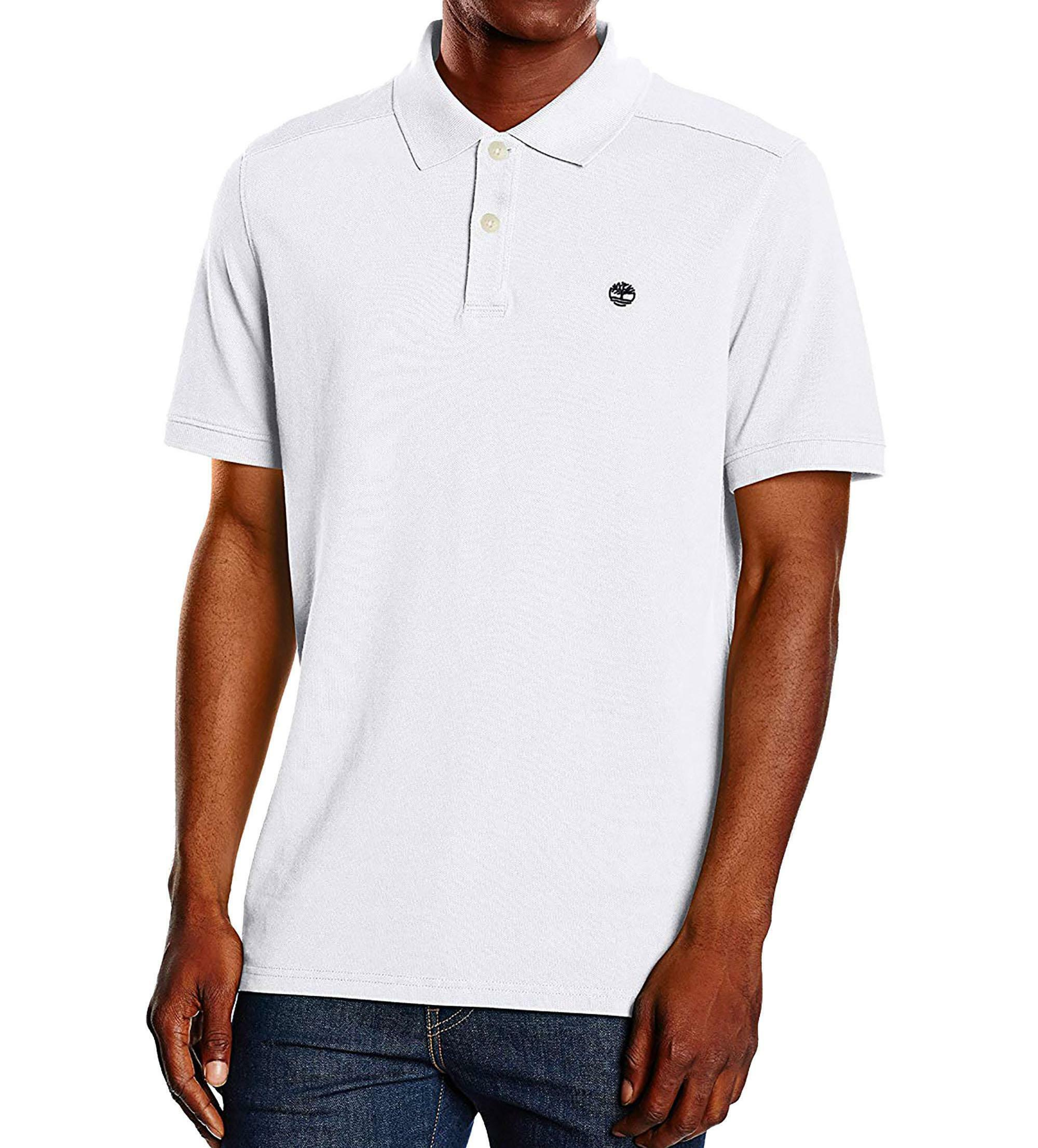 timberland timberland ss millers river polo uomo bianca a1s4j100