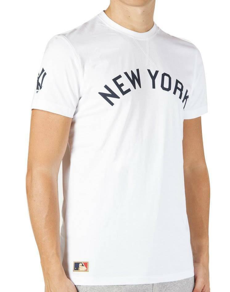 new era new era ct tee t-shirt uomo bianca 11278242