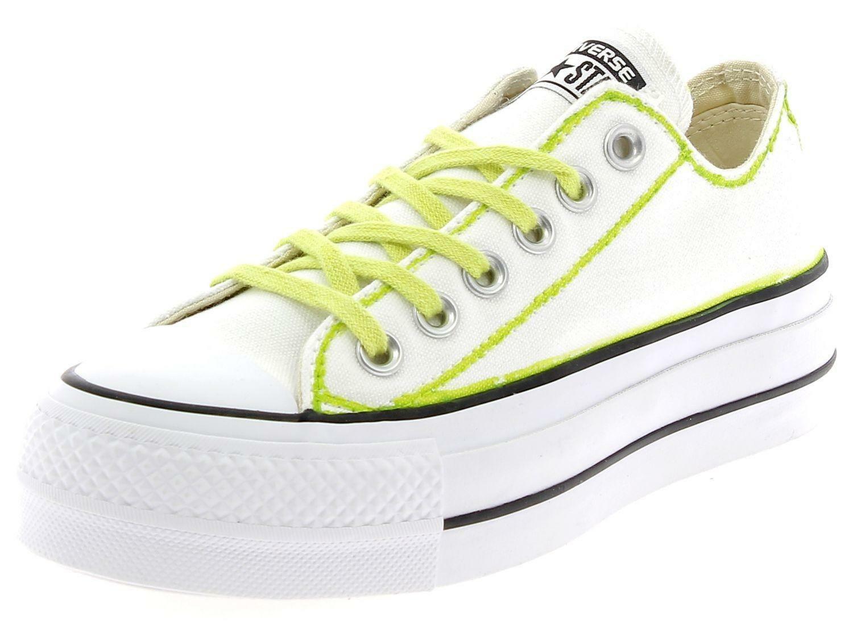 converse converse ctas lift ltd ox safari scarpe sportive bianche donna 560900
