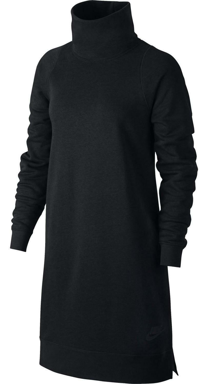 nike nike sportswear vestito donna nero 857384010