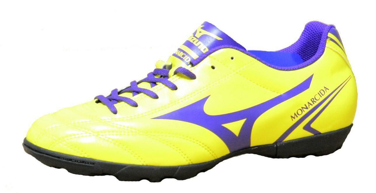 mizuno mizuno monarcida as scarpini calcetto uomo gialli p1gd162467