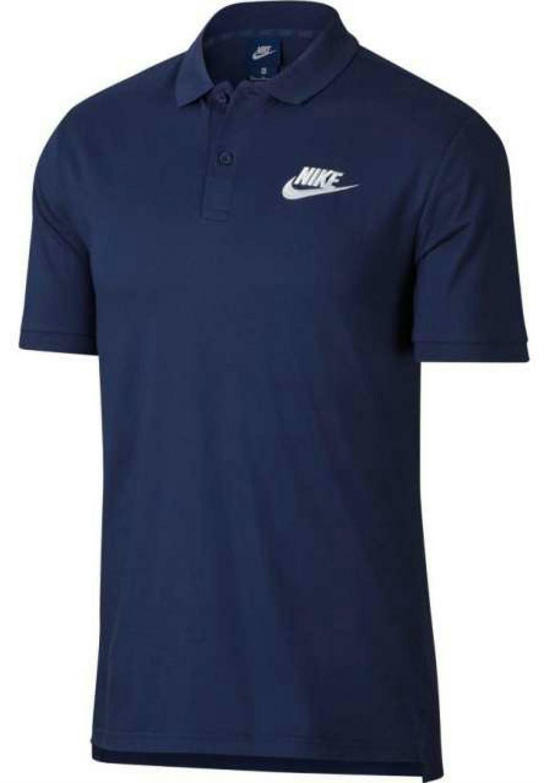 nike nike sportswear polo uomo blu 909752429