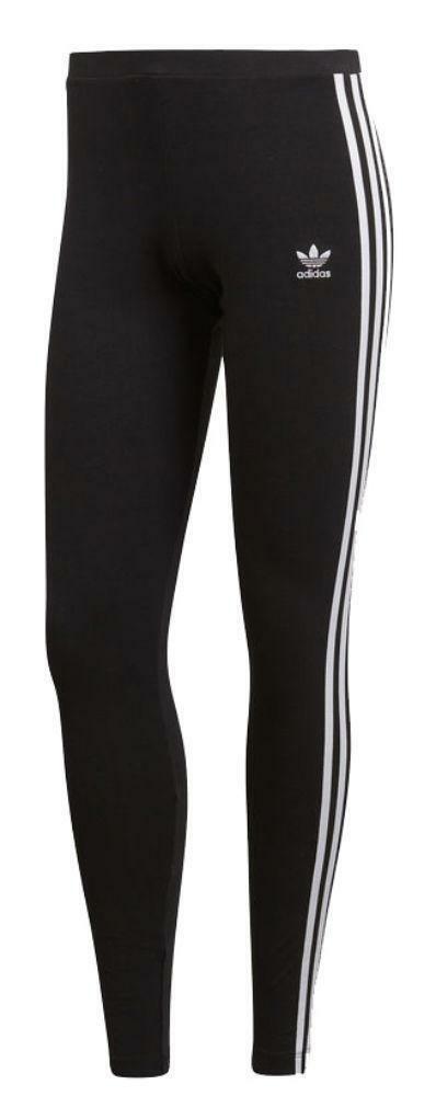 adidas originals adidas 3 str tight leggings donna nero ce2441