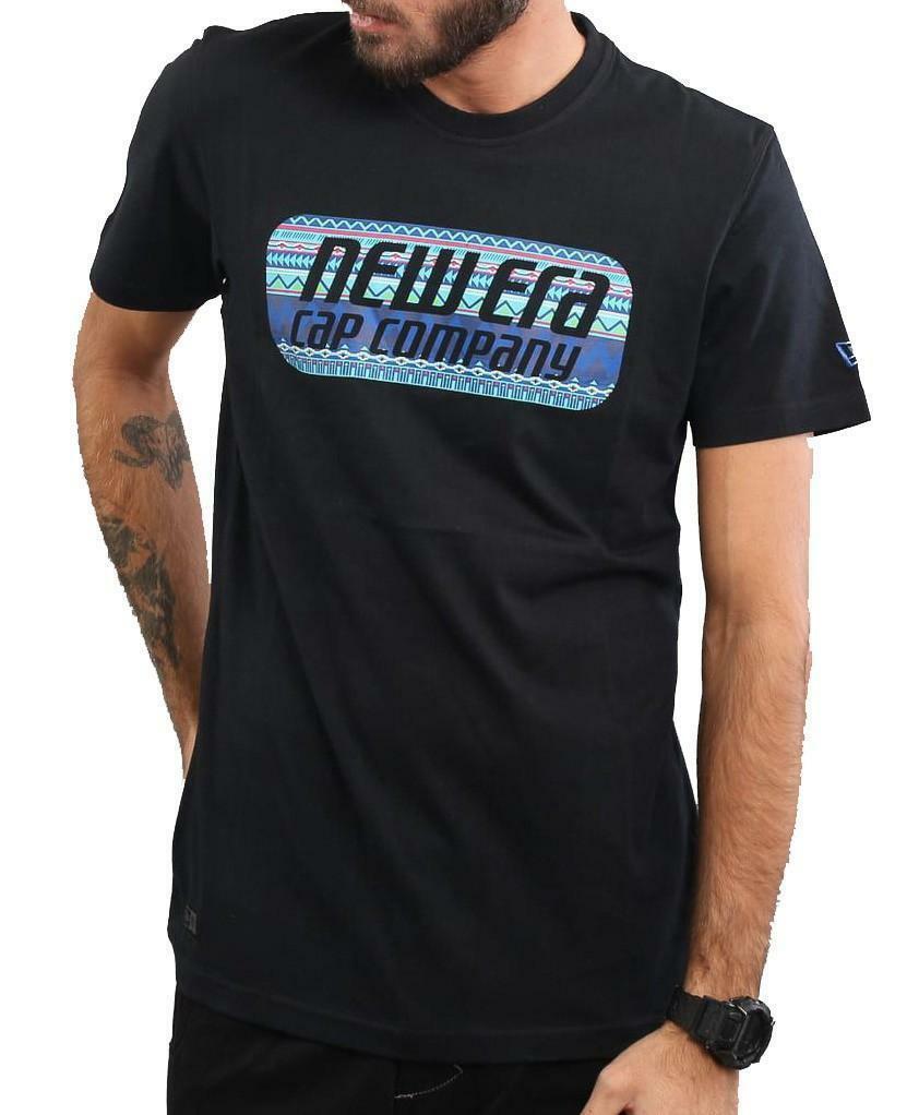 new era new era native pill tee t-shirt uomo bianca