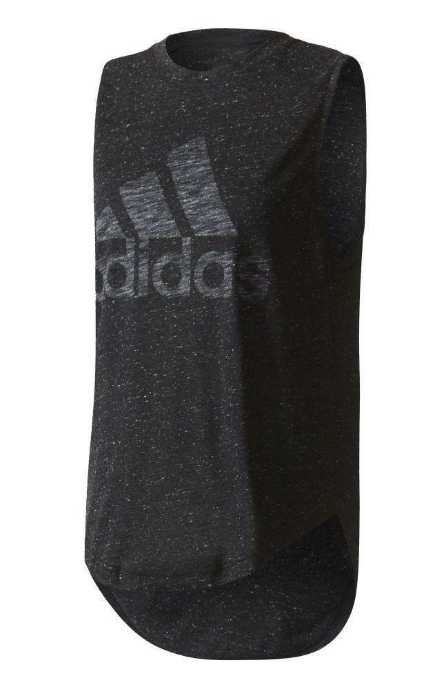 adidas adidas winners m tee canotta donna nera