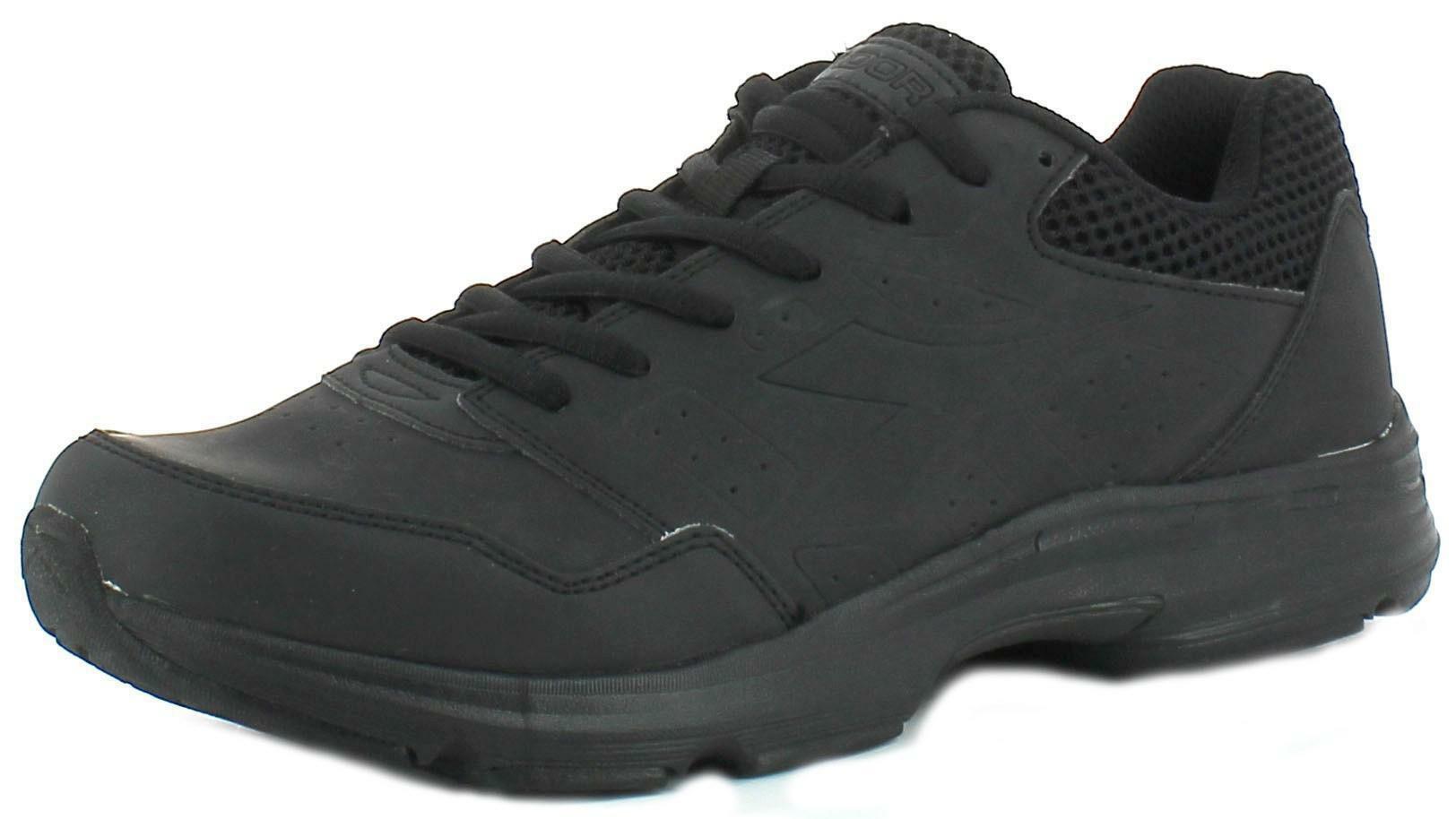 diadora diadora shape 6 sl scarpe sportive uomo nere pelle