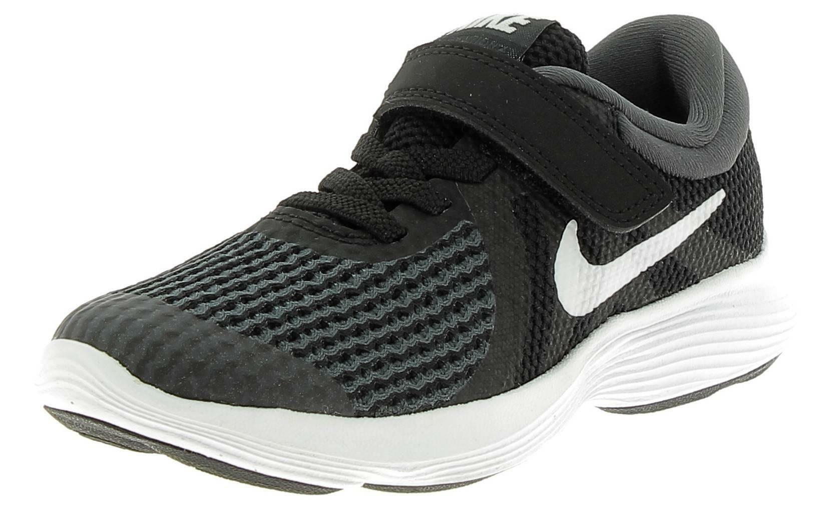 nike nike revolution 4 (psv) scarpe sportive bambino nere
