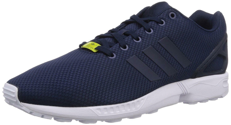adidas zx flux scarpe sportive uomo blu tela m19841