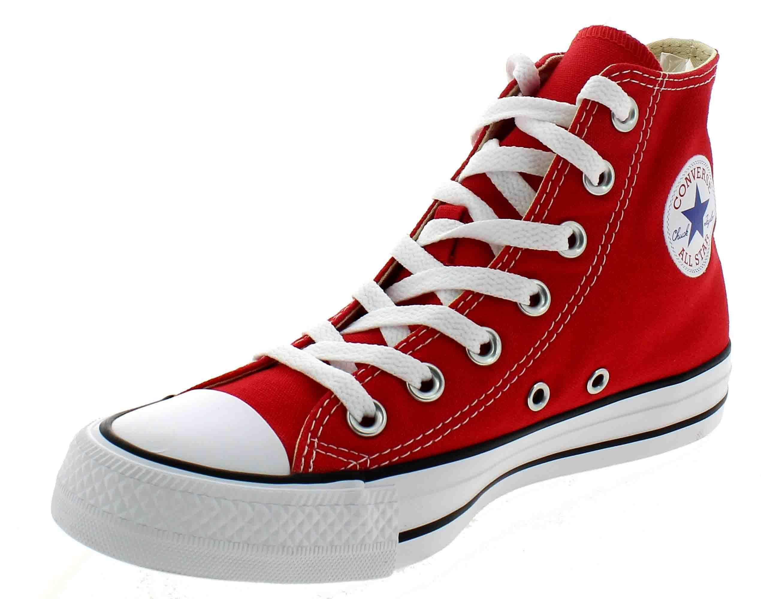 converse all star hi sport schuhe hohe rot m9621 ebay. Black Bedroom Furniture Sets. Home Design Ideas