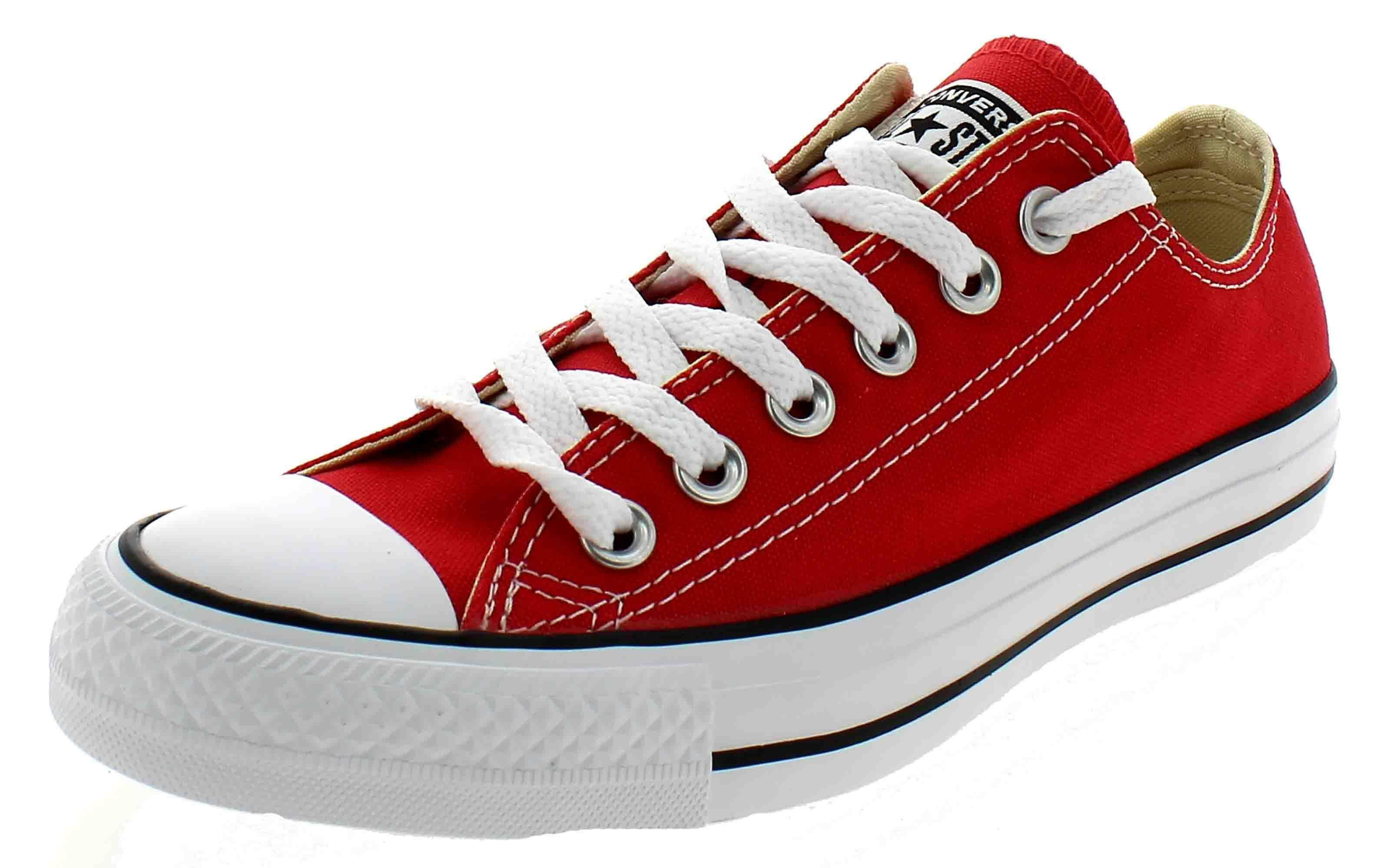 converses rosso