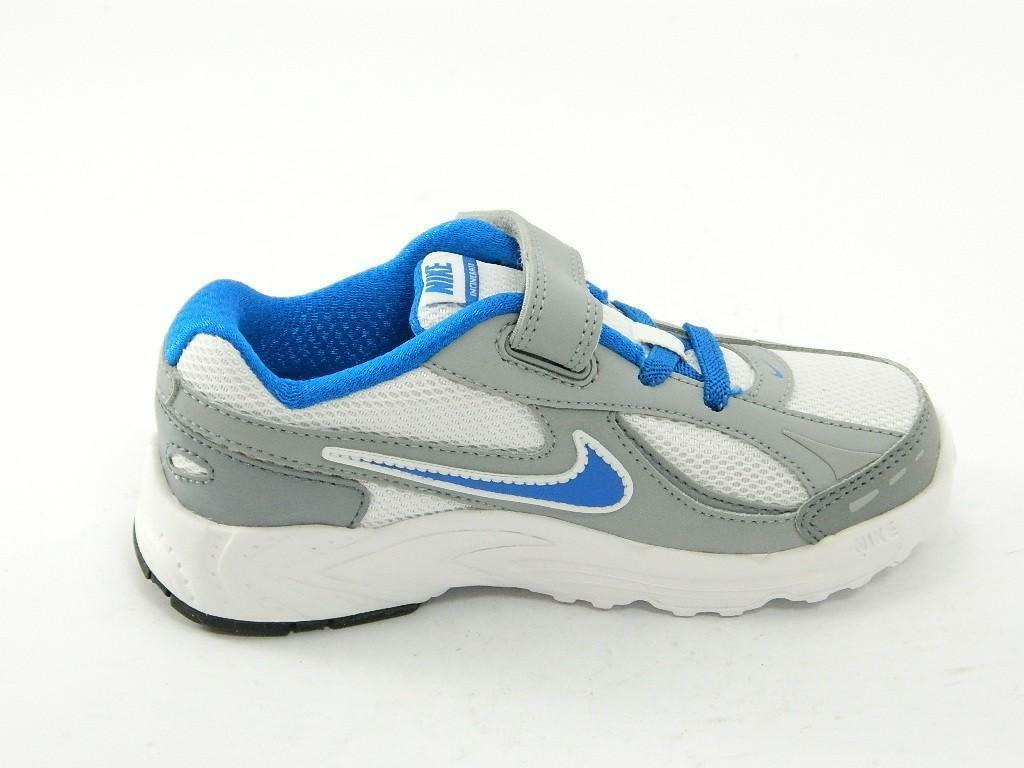 nike incinerate scarpe running sneakers bianche white blue junior