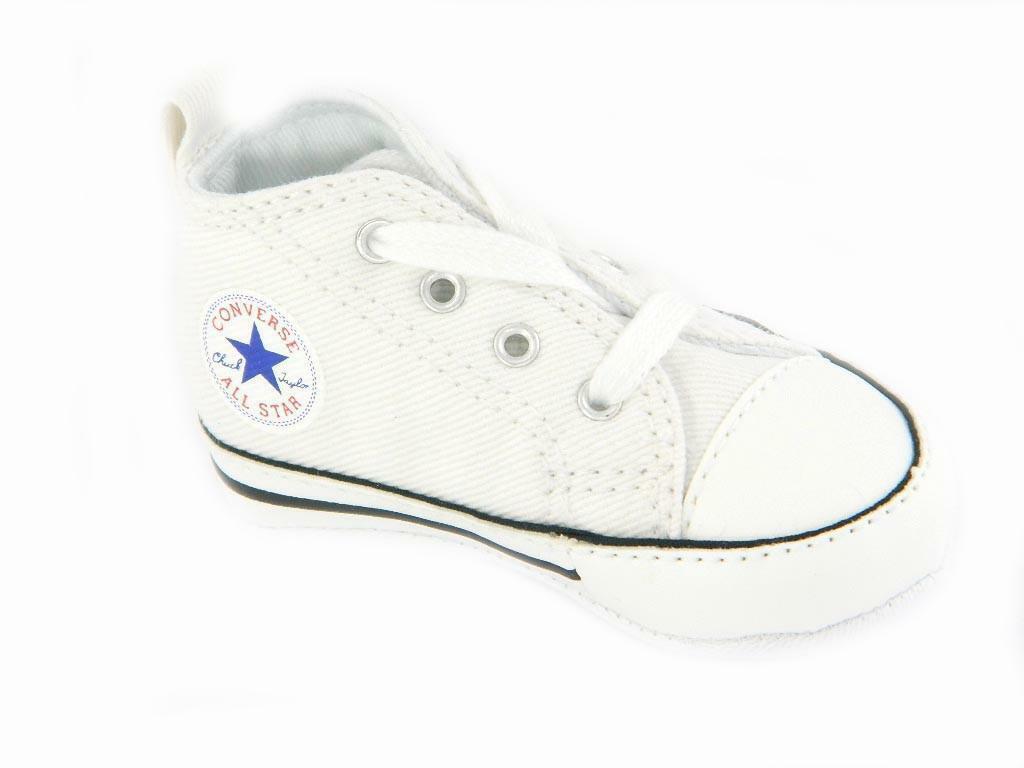2converse neonata bianca
